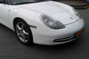 Porsche auto wrappen
