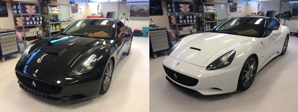 autowrappen Ferrari California