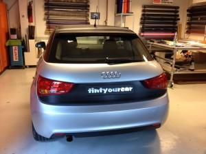 wrappen met carbon Audi A1