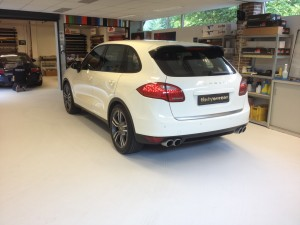autoramen tinten Porsche Cayenne