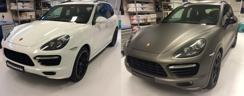 Wrappen Porsche Cayenne
