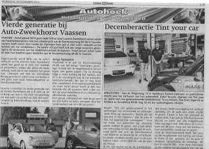 Tint your car in de Stedendriekhoek