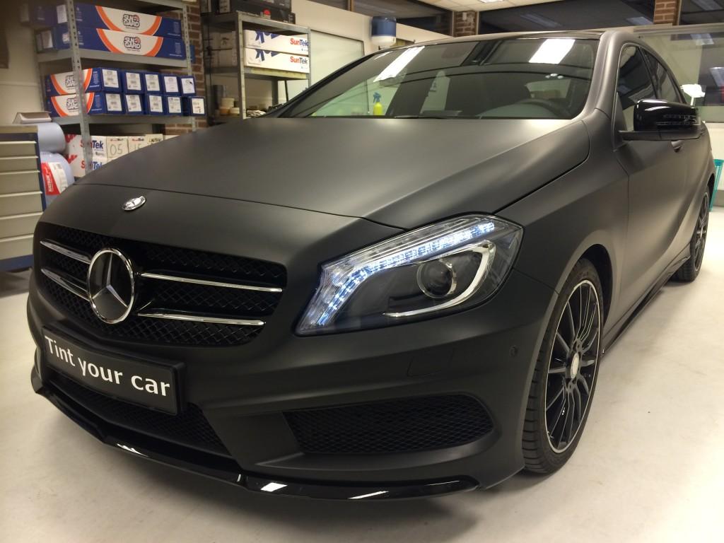 Mercedes A klasse autowrappen
