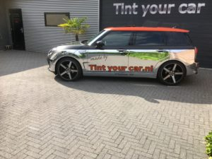Mini Clubman F54 chroom wrap