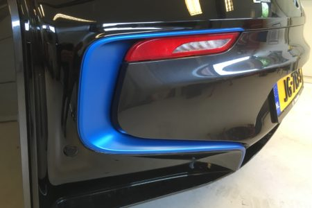 Car wrap BMW I8