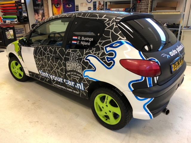 ruiten blinderen 206 Rally Cup