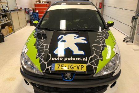 Car wrap voor 206 Rally Cup 2019
