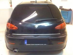 autoramen-tinten Alfa Romeo