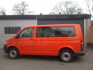 autoramen tinten Volkswagen Transporter T5