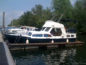 Blinderen boot voor