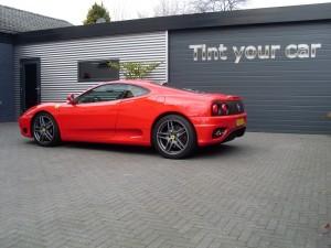 ramen-tinten Ferrari Modena