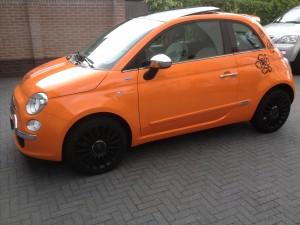 autoramen tinten Fiat 500