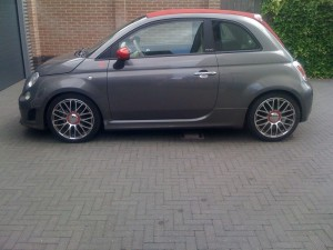 ruiten tinten Fiat 500