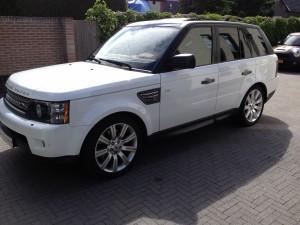 autoramen-tinten Range Rover Sport