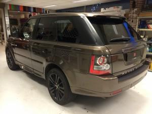 autoramen tinten Range Rover Sport
