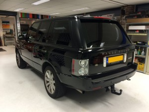 autoruiten tinten Range Rover Landrover Evoque