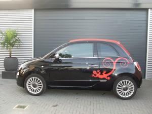 Car design Fiat 500 print