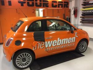 autoreclame the webmen
