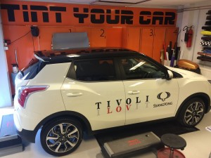 reclame-belettering Tivoli