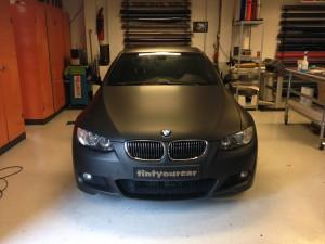 auto-wrappen BMW 1