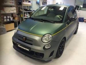 auto-wrappen Fiat 500 Abarth