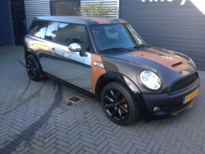 auto wrappen Mini clubman 1