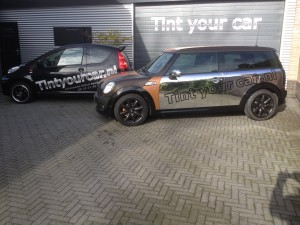 auto wrappen Mini clubman 4