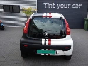 auto wrappen Peugeot 107 1