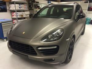 auto wrappen Porsche Cayenne 1