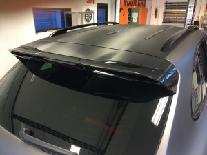 auto wrappen Porsche Cayenne 4