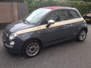autowrappen Fiat 500