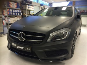 autowrappen Mercedes A Klasse
