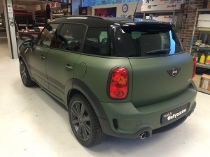 autowrappen Mini Countryman