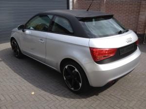 autowrappen dak Audi