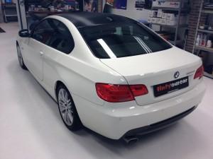 autowrappen dak BMW