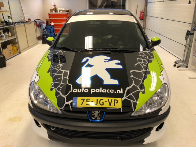 car wrap 206 cup Rally