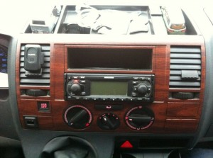 wrappen interieur VW transporter T5 (2)