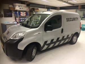 belettering Security