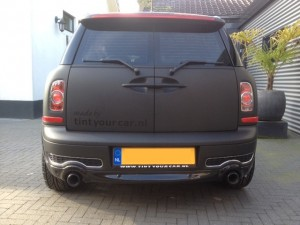 auto wrappen Mini clubman 2