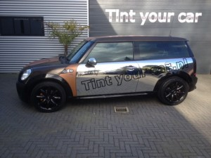 auto wrappen Mini clubman 3
