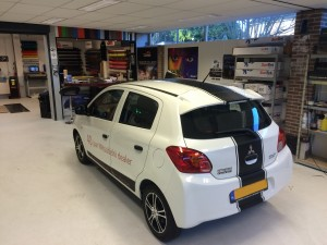 wrappen Mitsubishi Spacestar 1